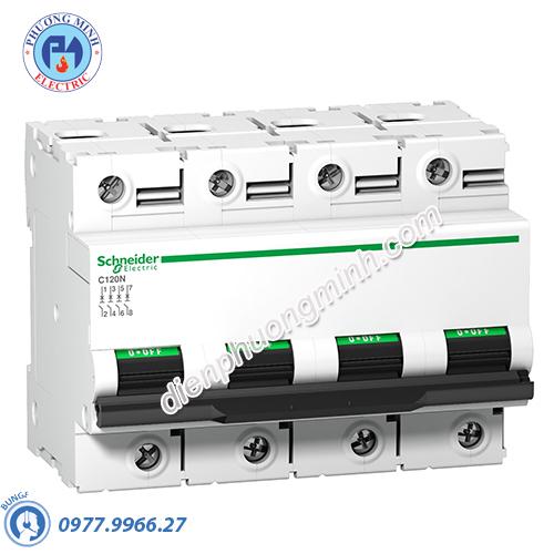 Acti9 C120N MCB 4P 80A 10kA - Model A9N18372
