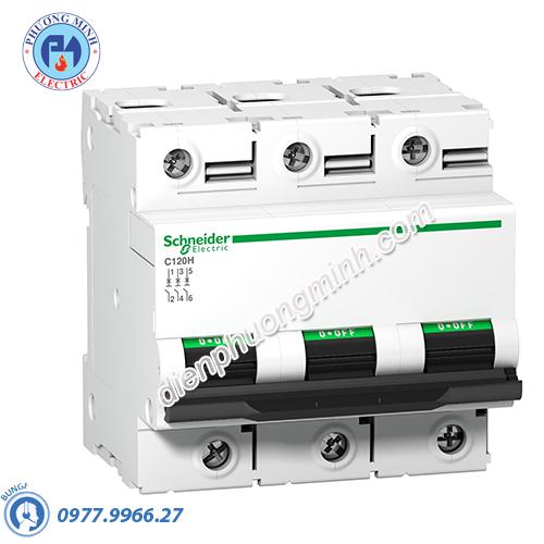 Acti9 C120H MCB 3P 80A 15kA - Model A9N18468