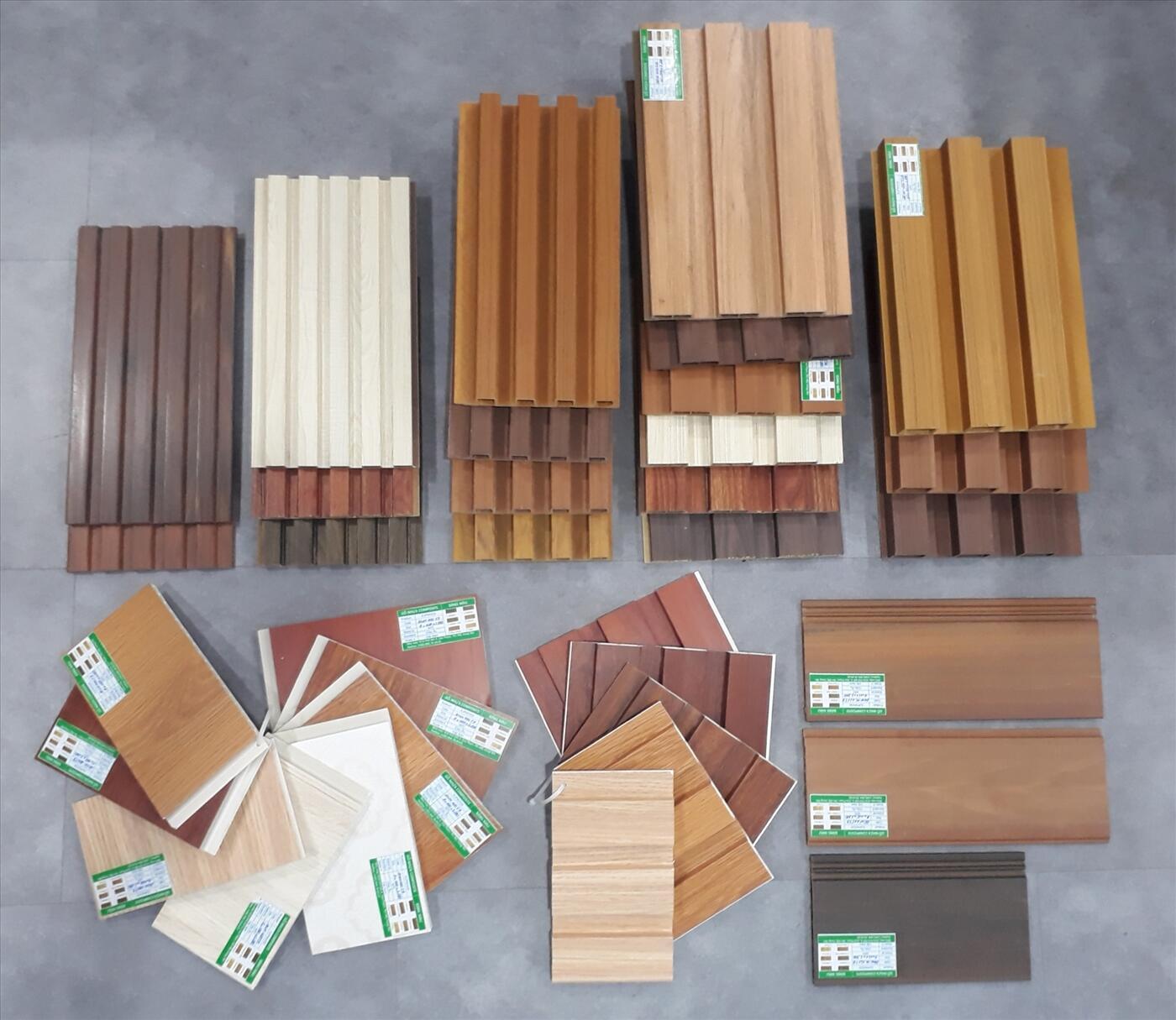 Một số mẫu Ốp gỗ nhựa Composite của Danacity