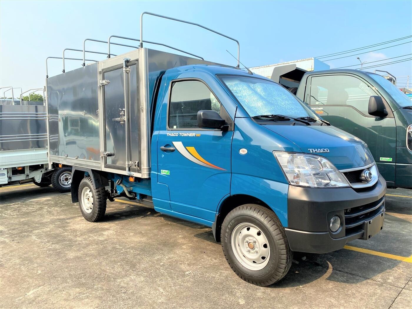 Xe Tải Towner 990 Thùng Mui Bạt, Tải 850 Kg