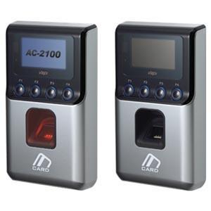 AC-2100H (KOREA), máy chấm công, kiểm soát an ninh sử dụng đồng thời vân tay & thẻ
