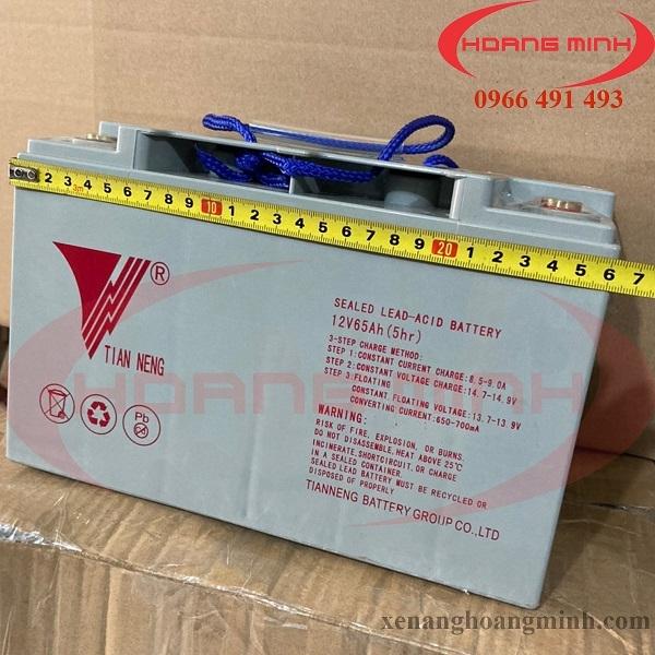 Ắc qui xe nâng điện 12V65Ah - Phụ tùng xe nâng điện chính hãng