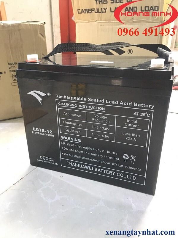 Phụ tùng xe nâng điện Heli hangcha Noblift- Bình ắc quy xe nâng điện