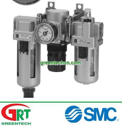 AC30-02-A | SMC AC30-02-A | Bộ lọc điều áp SMC AC30-02-A | Air filter with regulator, lubricatior