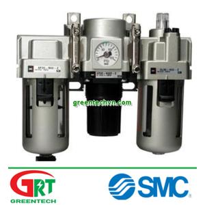 AC40-004G | SMC | Bộ lọc điều áp, tách nước, tách dầu khí nén | Vietnam | Greentech Vietnam