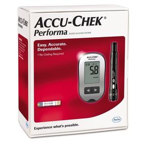 Máy đo đường huyết Accu-Chek Performa (thế hệ 2)