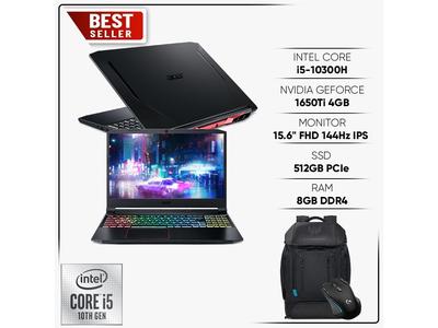 Acer Nitro 5 2020 AN515-55-5923 |Core i5-10300H|8GB|512GB| 15,6inch|Geforce GTX 1650ti 4GB| New 100%