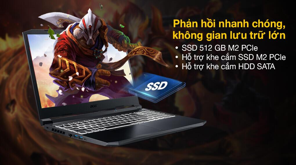 Laptop Acer Nitro 5 an515-45-r3sm mới tại đà nẵng