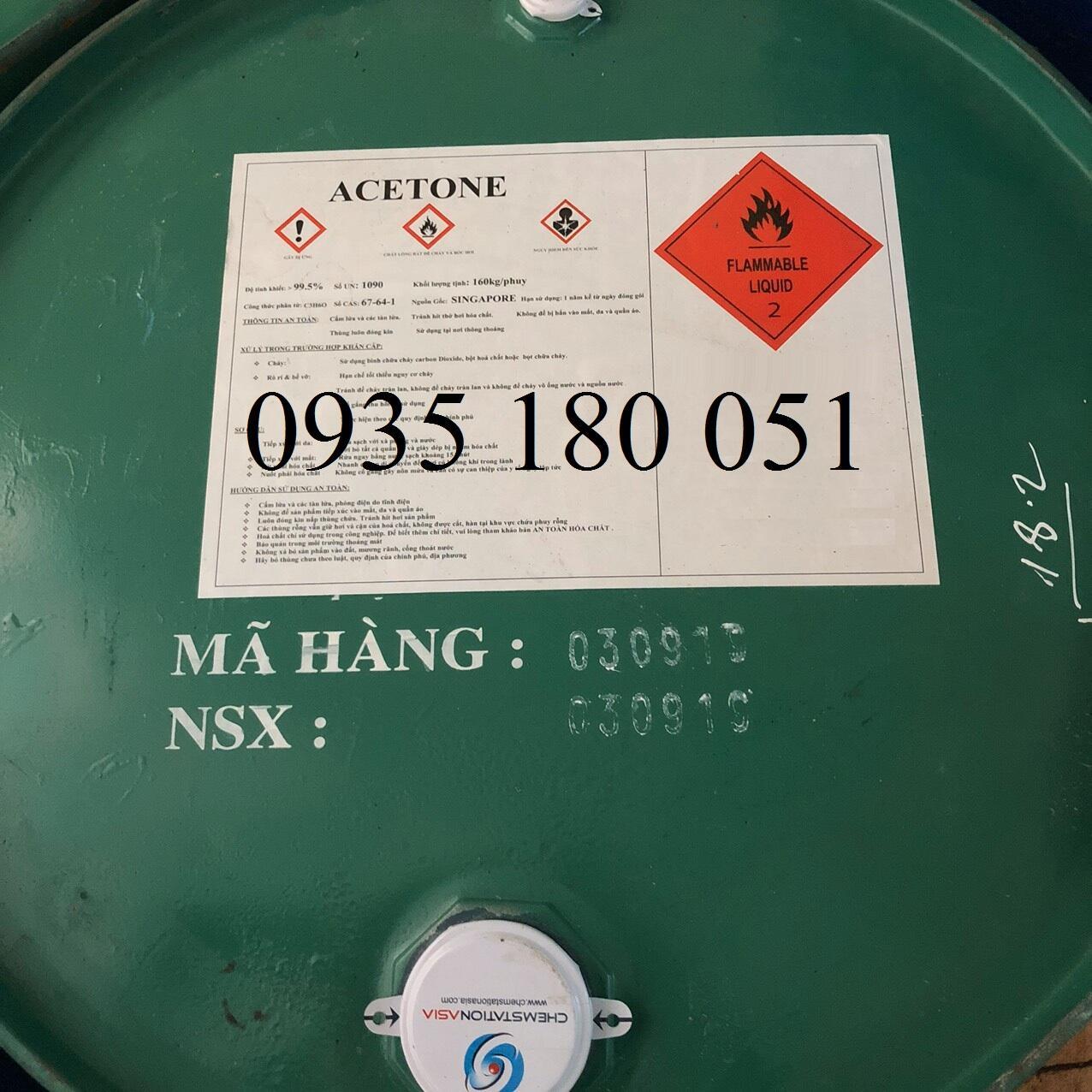 Acetone CH3COCH3