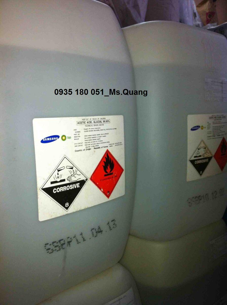 Axit acetic_Giấm_CH3COOH 99%