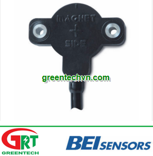 Angular position sensor / non-contact / Hall effect / analog ø 50 mm, 12 bit   ACW4