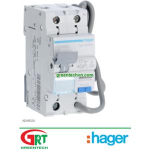 ADA932U | Hager ADA932U | RCBOs / RCBOs Single Pole / ADA932U | Hager Vietnam