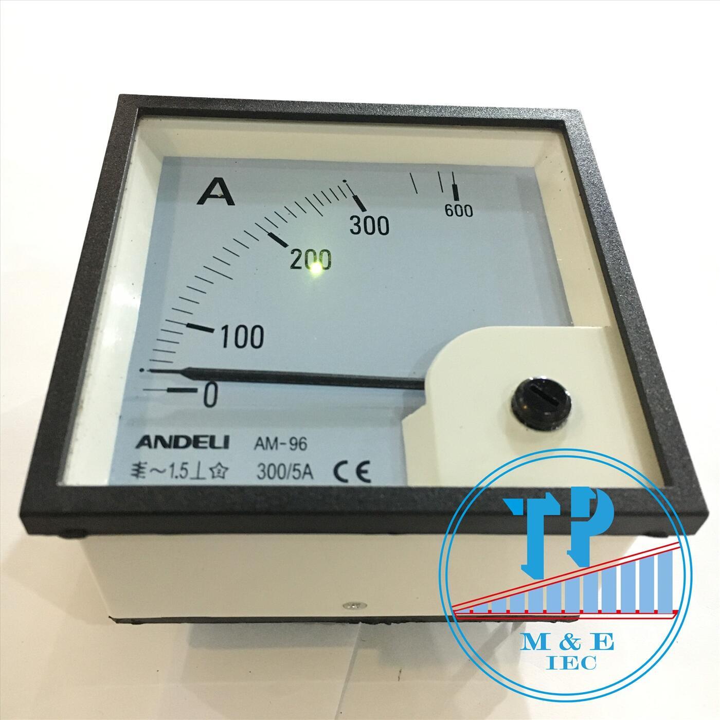 Đồng hồ Ampe 300/5A