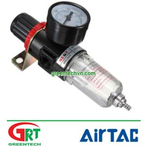 AFR-2000 | Airtac AFR-2000 | Bộ lọc có điều chỉnh áp | Filter Regulator Pressure Gauge | Airtac