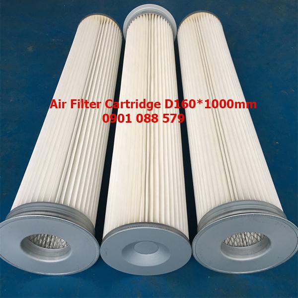 Air Filter Cartridge  Lọc bụi phòng sơn D160*1000mm
