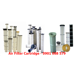 Air Filter Cartridge - Pleated Bag Filters
