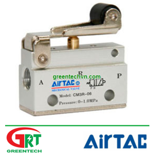 Airtac CM3R-06 | CM3R-06 | Van đk khí nén CM3R-06 | Manually-controlled valve CM3R | Airtac Việt Nam
