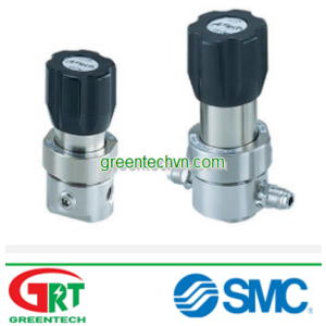 Stainless steel back-pressure regulator 1/4 - 1/2 | AK/BP series | SMC Vietnam | SMC Pneumatic