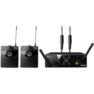 Bộ âm thanh không dây AKG WMS 40 Mini2 Dual Wireless Instrumental System