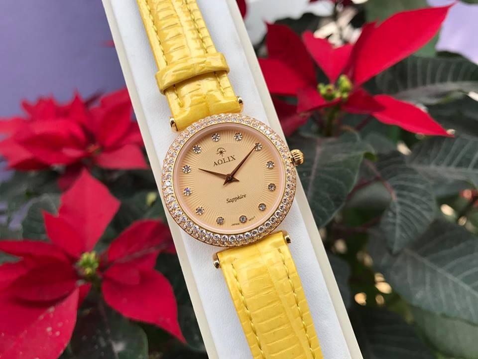 đồng hồ nữ chính hãng aolix al 1020l - mlvkv | hieutin.com