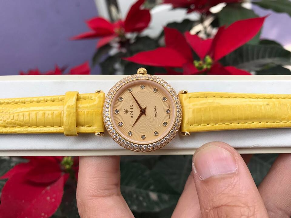 Đồng hồ nữ chính hãng aolix al 1020ld -mlvkv