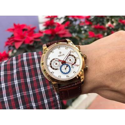 Đồng hồ nam chính hãng aolix al 7049g - mlkt