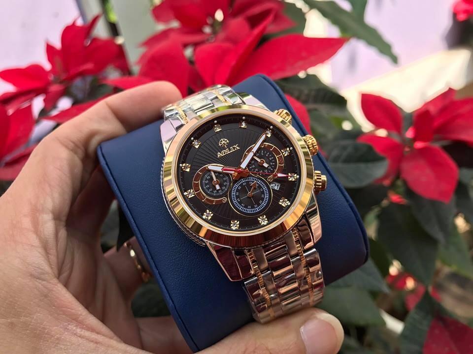 Đồng hồ nam chính hãng Aolix AL 7049M - SG1A
