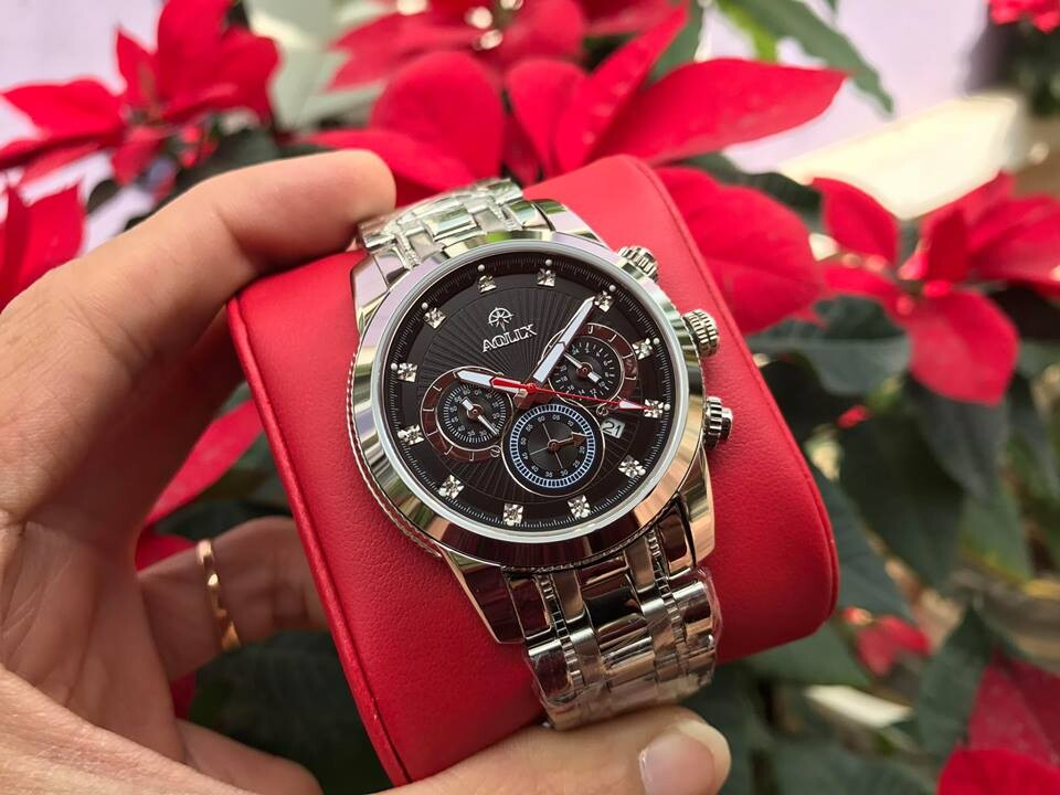 Đồng hồ nam chính hãng Aolix al 7049g - mssd