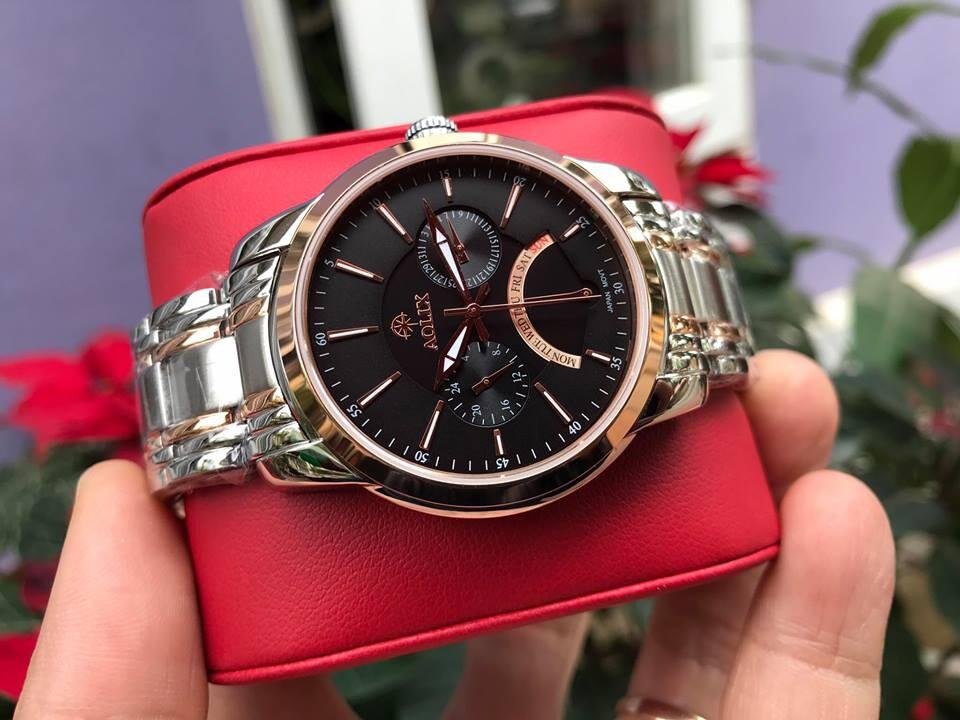 Đồng hồ nam chính hãng Aolix al 7061g - mskrd