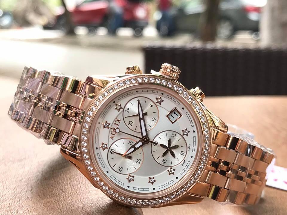 đồng hồ nữ chính hãng aolix al 7066l - mkrt   hieutin.com