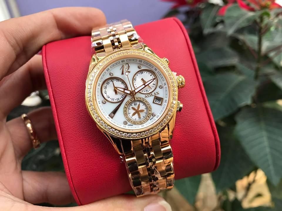 đồng hồ nữ chính hãng aolix al 7066l - mkt | hieutin.com