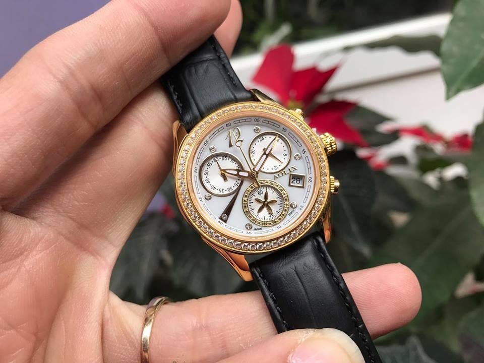 đồng hồ nữ chính hãng aolix al 7066l - mlbkt   hieutin.com
