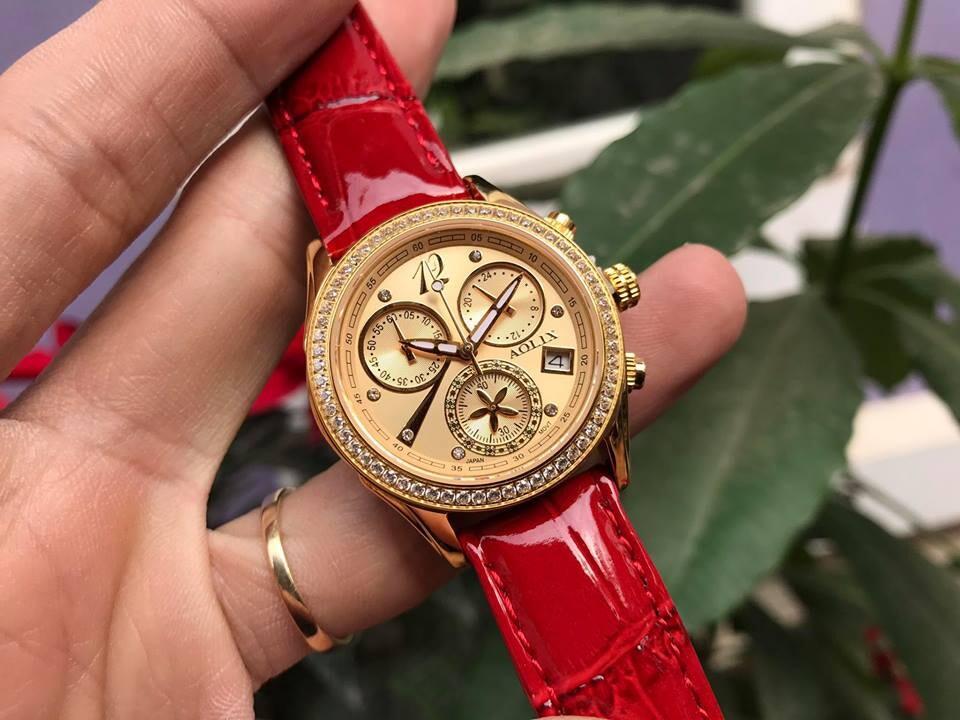 đồng hồ nữ chính hãng aolix al 7066l - mldkv | hieutin.com