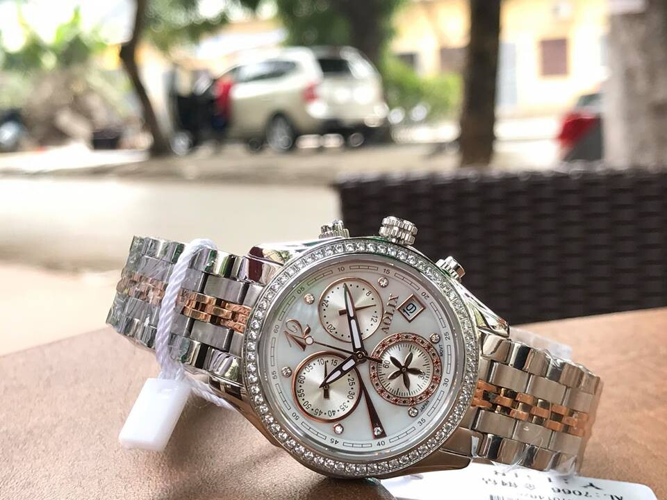 đồng hồ nữ chính hãng aolix al 7066l - mskrt   hieutin.com