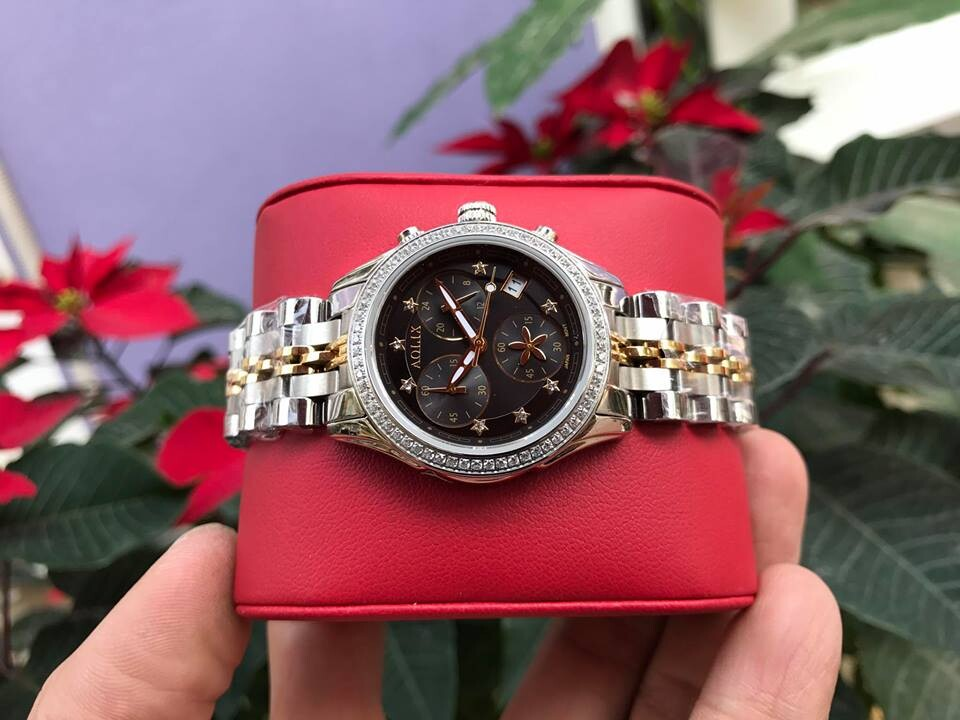 Đồng hồ nữ chính hãng aolix al 7066l - mskd