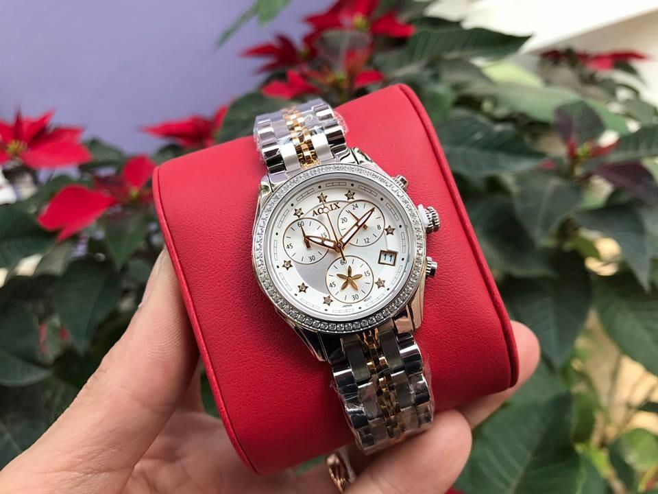Đồng hồ nữ chính hãng aolix al 7066l - mskt