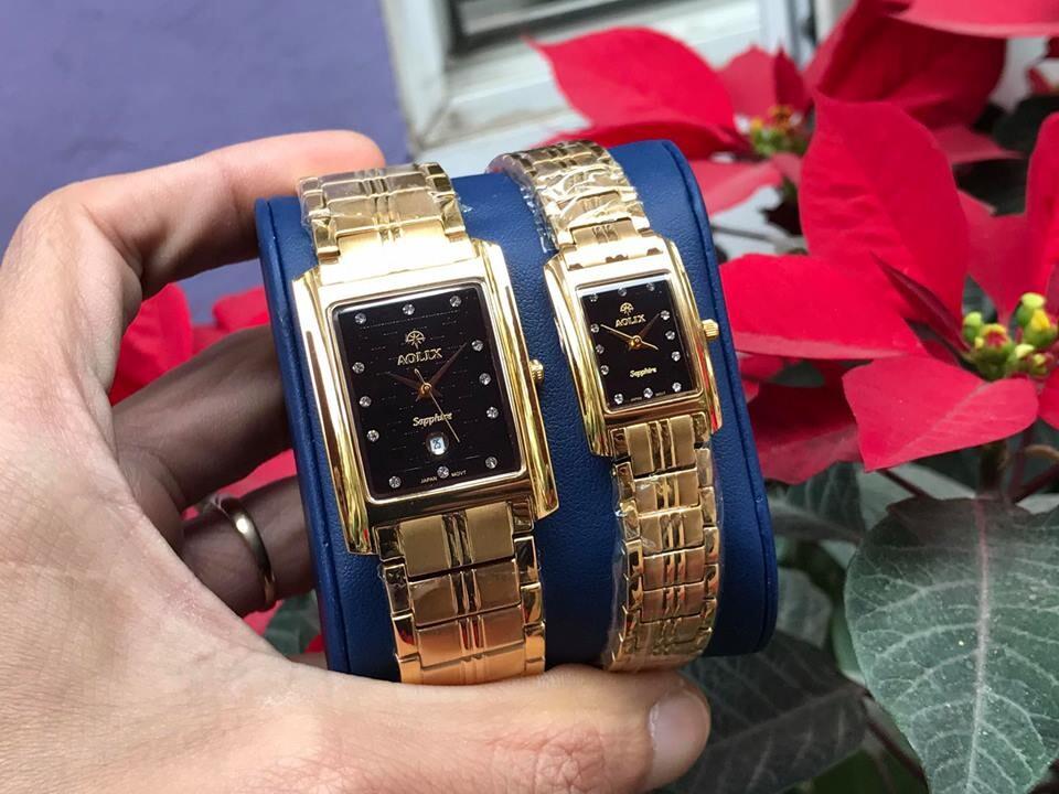 Đồng hồ cặp đôi chính hãng Aolix al 9046 - mkd