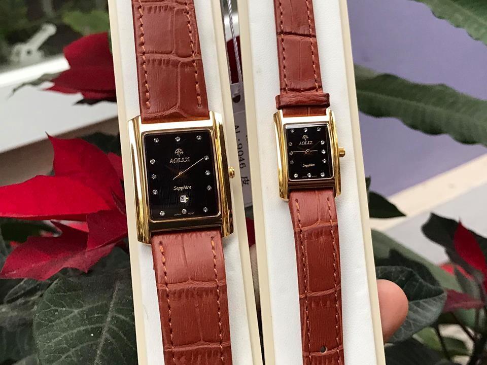 Đồng hồ cặp đôi chính hãng Aolix al 9046 - mlkd