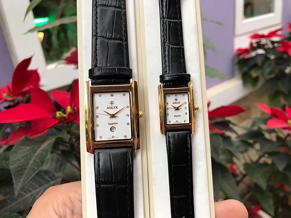 Đồng hồ cặp đôi chính hãng Aolix al 9046 - mlkt