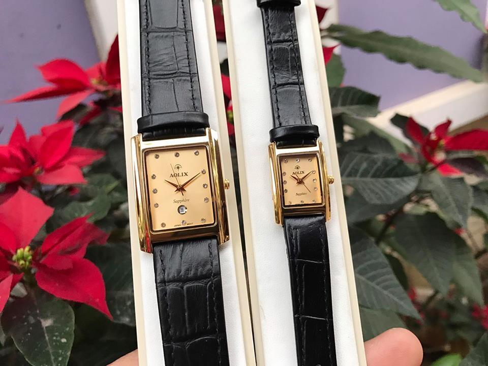 Đồng hồ cặp đôi chính hãng Aolix al 9046 - mlkv