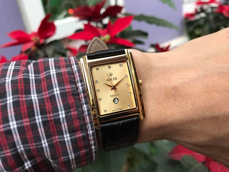 đồng hồ nam chính hãng aolix al 9046g - mlkv
