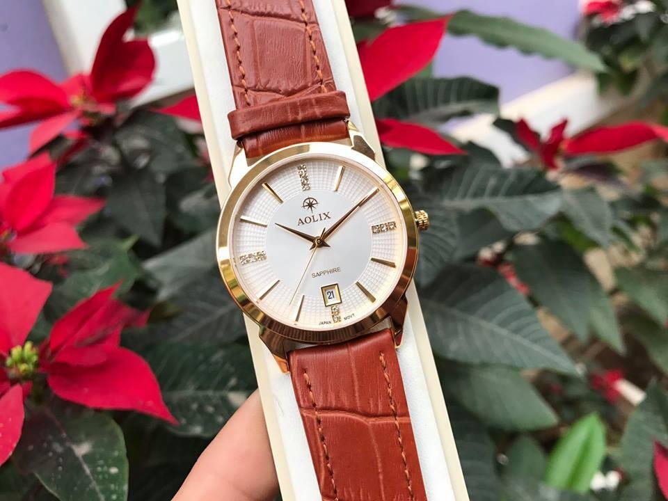 Đồng hồ nam chính hãng aolix al 9094g - mlkt