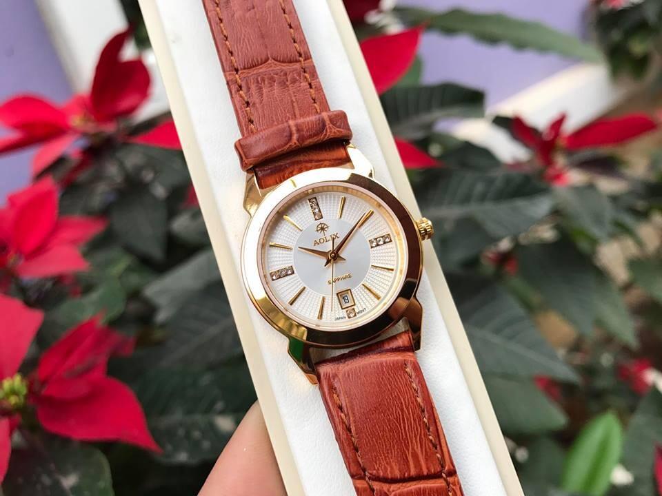 Đồng hồ cặp đôi chính hãng aolix al 9094 - mlkt