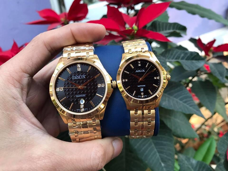 đồng hồ cặp đôi chính hãng aolix al 9123 - mkd | hieutin.com