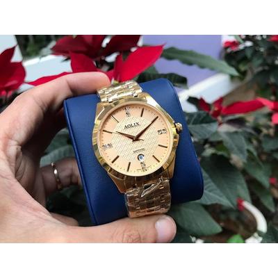 Đồng hồ cặp đôi chính hãng aolix al 9123 - mkv