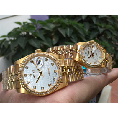 Đồng hồ cặp đôi chính hãng aolix al 9148 - mkt