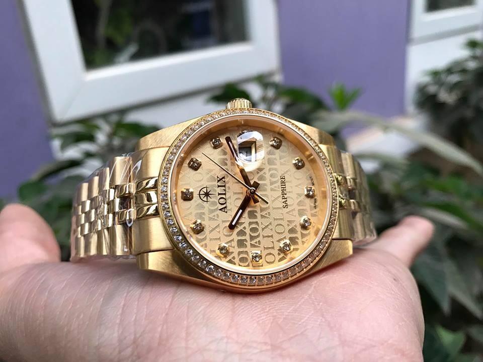 Đồng hồ cặp đôi chính hãng Aolix al 9148 - mkv