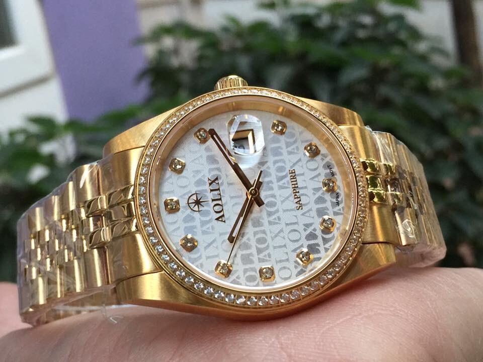 Đồng hồ nam chính hãng Aolix al 9148g - mkt