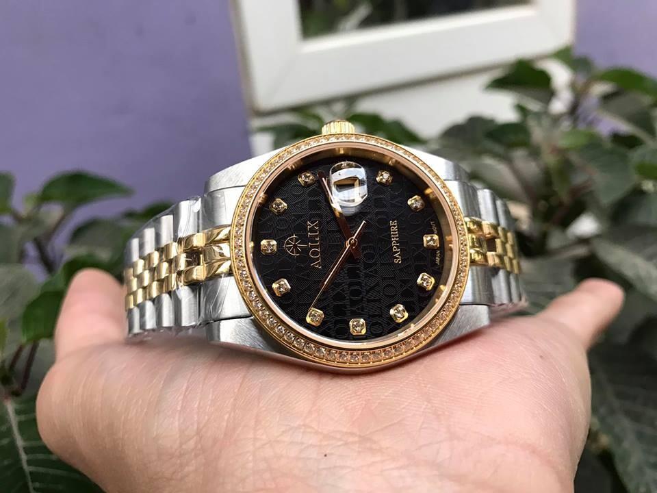 Đồng hồ cặp đôi chính hãng Aolix al 9148 - mskd