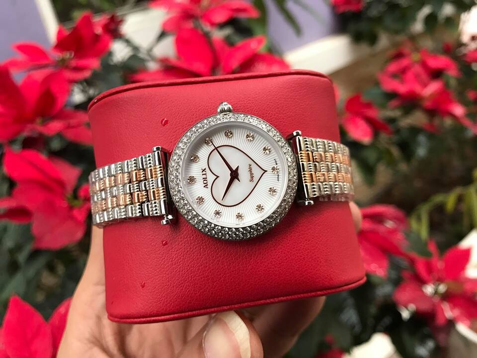 Đồng hồ nữ chính hãng aolix al 1020lh - mskrt